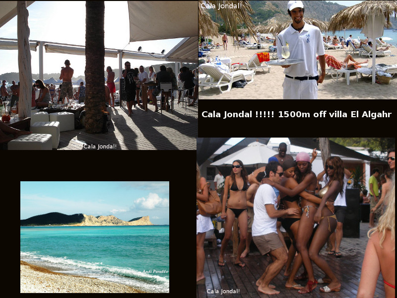 Great                     Cala Jondal!